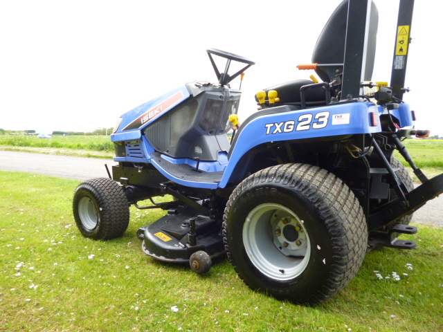 SOLD!!! ISEKI TXG23 FH SUB COMPACT TRACTOR 662 HRS