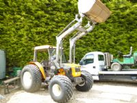 SOLD !! RENAULT PALES 210 TRACTOR WITH LOADER