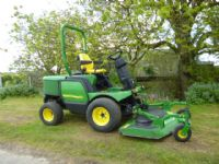 SOLD!!! JOHN DEERE 1545 DIESEL RIDE ON MOWER OUTFR
