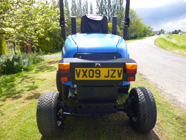 SOLD!!! NEW HOLLAND MC35 OUTFRONT MOWER